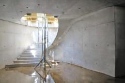voxeljet的3D打印楼梯混凝土模板。
