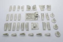 来自voxeljet的3D打印PMMA模型。
