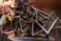 雕塑的修补