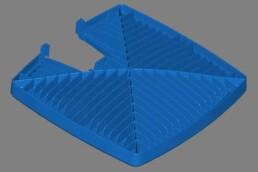 voxeljet优化LED灯的CAD数据。