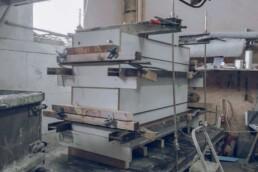混凝土公司石料的模板来自voxeljet。