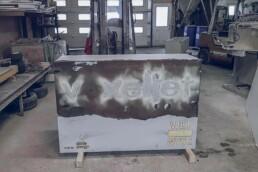 拆除传统模板后的voxeljet公司瓷砖