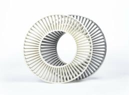 由voxeljet的PMMA制成的3D打印投资铸造模型。