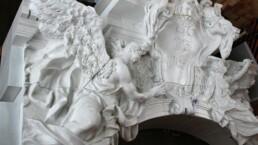来自voxeljet的3D打印混凝土模板。