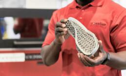 voxeljet的3D聚合物鞋底