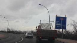 混凝土模板的运输