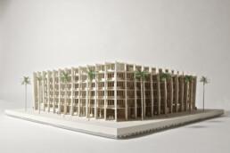 voxeljet的3D打印建筑模型
