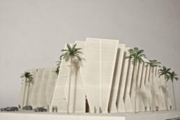 来自voxeljet的建筑模型