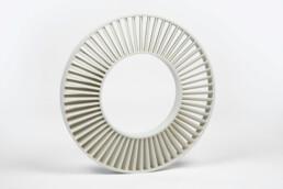 塑料叶轮的3D打印投资铸造芯。