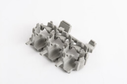 由voxeljet打印的3D水套芯子。