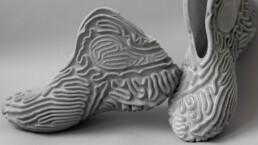 皮鞋设计师贝顺平的珊瑚跑鞋。