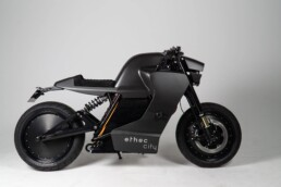 来自voxeljet的3D打印机的电动摩托车